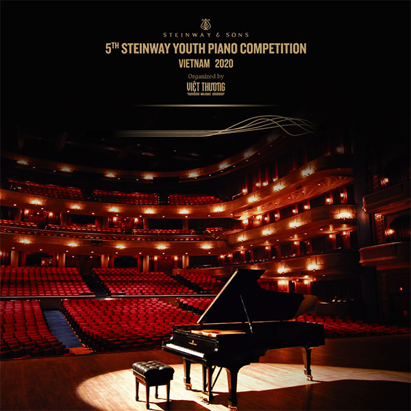 LỊCH TRÌNH CUỘC THI STEINWAY YOUTH PIANO COMPETITION 2020
