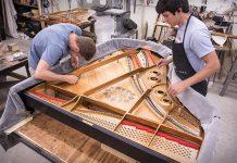 Khung piano chế tạo bằng phương pháp đúc cát